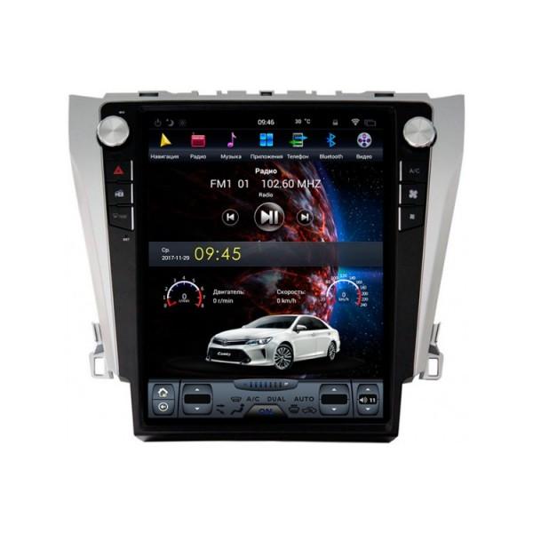 Цифровая медиа-станция HARDSTONE VD1420 Tesla Toyota Camry 50 2012-2015