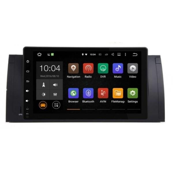 Цифровая медиа-станция HARDSTONE PD9039 BMW 5 E39/ X5 E53