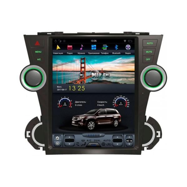 Цифровая медиа-станция iSun Toyota Highlander XU40 (2007-2017)