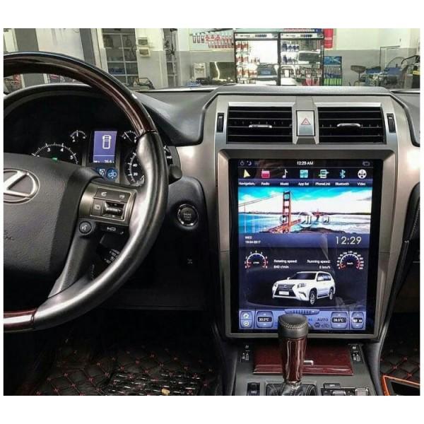 Цифровая медиа-станция iSun Tesla для Lexus Gx460