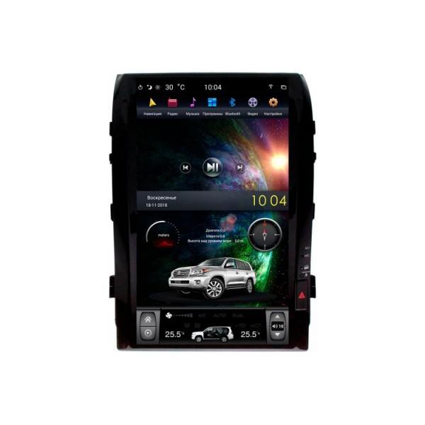 Цифровая медиа-станция iSun Toyota Landcruiser 200 (2007-2015) с штатным экраном